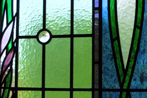 stained glass hagley