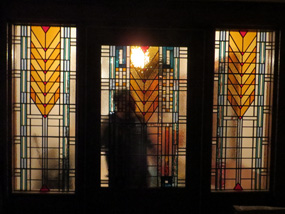 Frank Lloyd Wright Door and Surround-fitting
