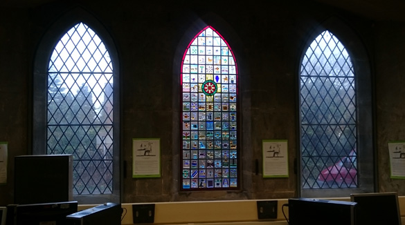 stained glass schools