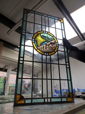 indian stained glass